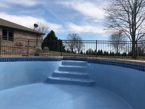 Swimming Pool Renovation: After