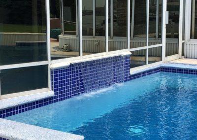 Inground Pool After Glasscoat Renovation