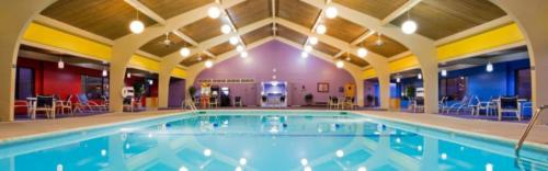 Indoor Commercial Swimming Pool After Glasscoat Renovation. Holiday Inn, Marquette