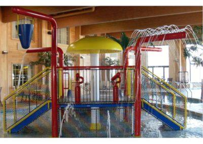Waterpark and Custom Commercial Concrete Indoor Pool