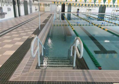 Custom Commercial Concrete Indoor Pool, Ashwaubenon High School, Wisconsin