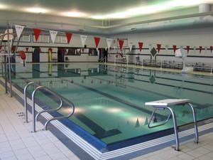 Custom Commercial Concrete Indoor Pool, Shawano High School, Wisconsin
