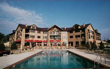 Custom Commercial Concrete Inground Pool, Osthoff Resort, Elkhart Lake, Wisconsin