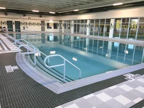 Custom Commercial Concrete Indoor Warm-Up Pool, Ashwaubenon High School, Wisconsin