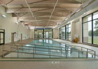 Custom Commercial Concrete Indoor Pool, Syble Hopp School, De Pere, Wisconsin