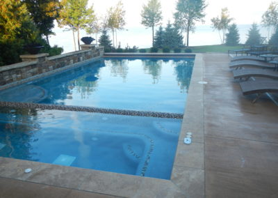 Pools-IngroundConcretePools-Custom-18x36-Rectangle-Pool-Spa-Combo-Fire-Water-Bowls-Auto-Cover-Pebble-Sheen-SturgeonBay-Wisconsin