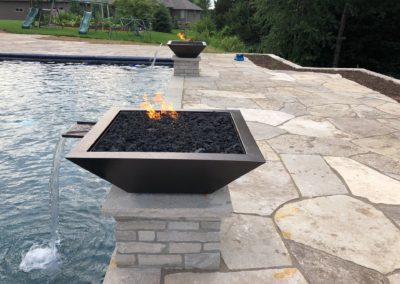 Pools-IngroundConcretePools-Custom-20x40-Rectangle-Automatic-Cover-OceanBlue-Pebble-Sheen-3622-Maya-Fire-Water-Bowls-Suamico-Wisconsin