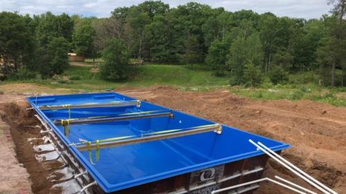 Pools-IngroundFiberglassPools-Shell-Install-16x37-Goliath-CaliforniaBlue-Rectangle-ThursdayPools-GreenBay-Wisconsin
