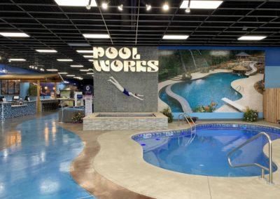 Showroom-Inground-Bahia-Display-Pool-Bubblers-LED-Lights-Laminar-Jets-Handrail-SunDeck-Concrete-Spa-Tiled-DePere-Wisconsin