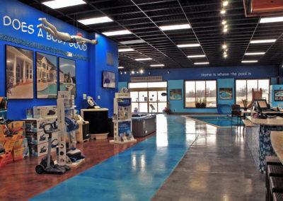 Showroom-Store-Pool-Equipment-Sales-Counter-Inground-Fiberglass-Display-DePere-Wisconsin