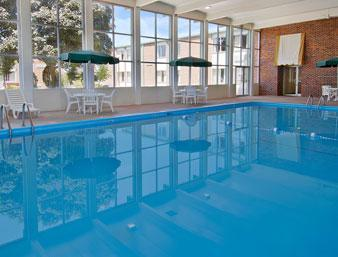 Custom Commercial Concrete Indoor Pool